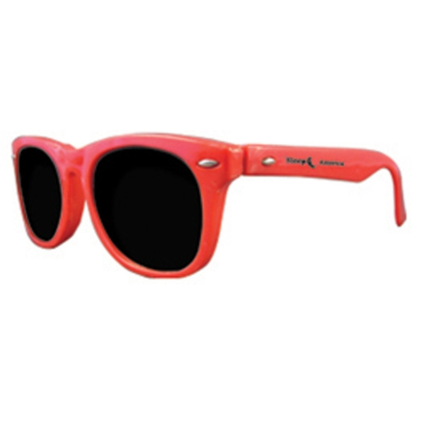 Premium Solid Red Sunglasses Photo