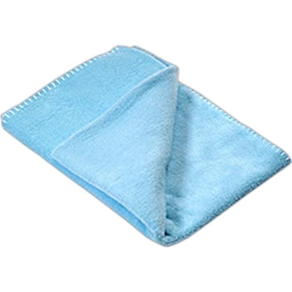 100% polyester baby/lap blanket