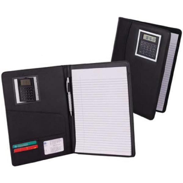 Leatherette memo holder