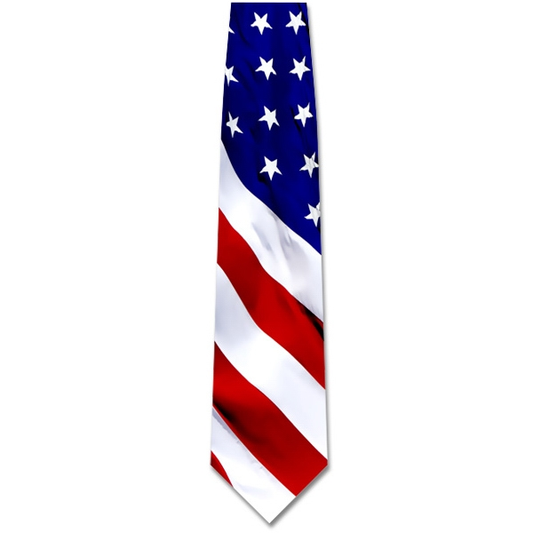 Tie - Patriotic Flag Tie
