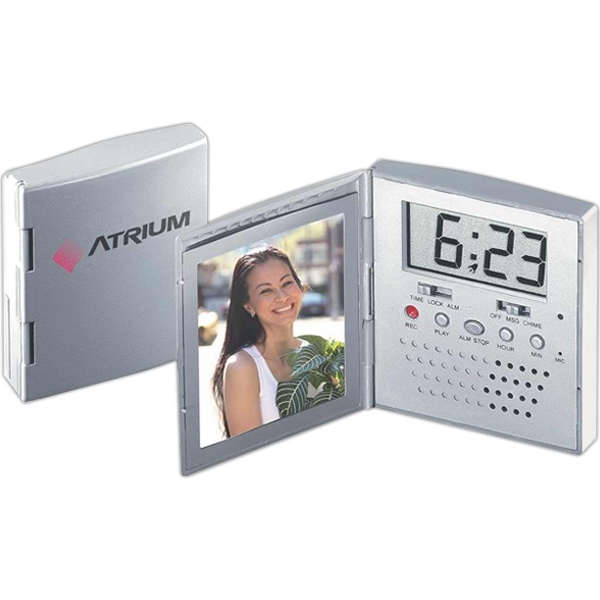 Voice Recording Photo Frame Alarm Clock Photo