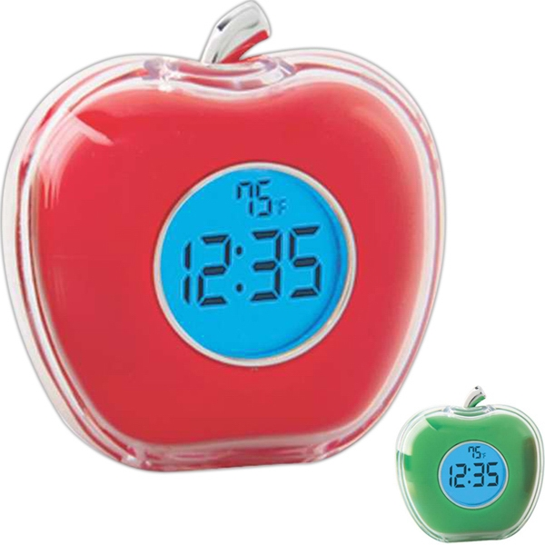 Talking Apple Shaped Clock Photo