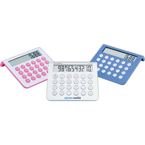 Jumbo Desk Top Calculator With 10 Digit Dot Matrix Display Photo