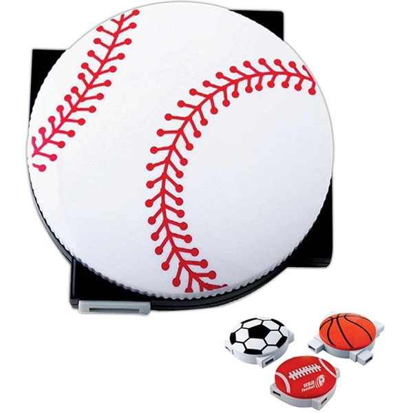 Baseball - Sports Themed Four-port Usb 2.0 Hub Photo