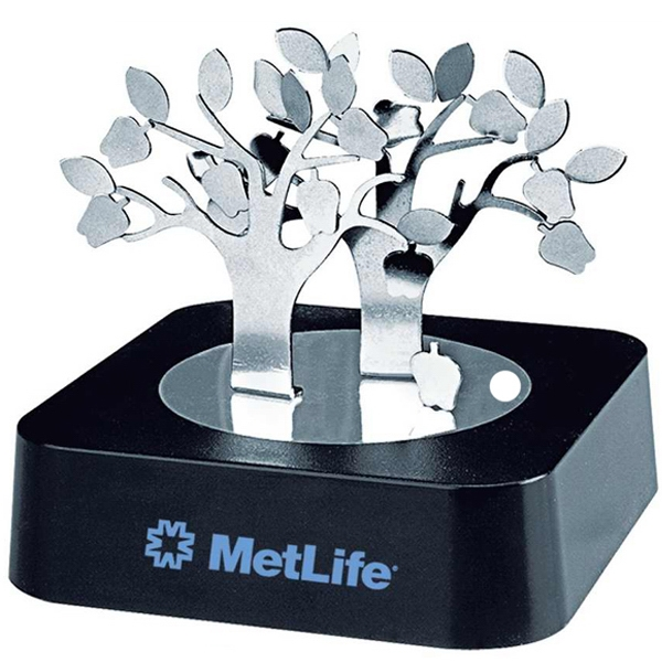 Magnetic Apple Tree Sculpture Block Photo