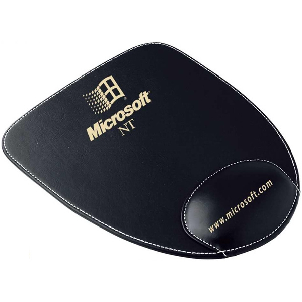 U-shaped Polyurethane Mouse Pad With Wrist Cushion Photo