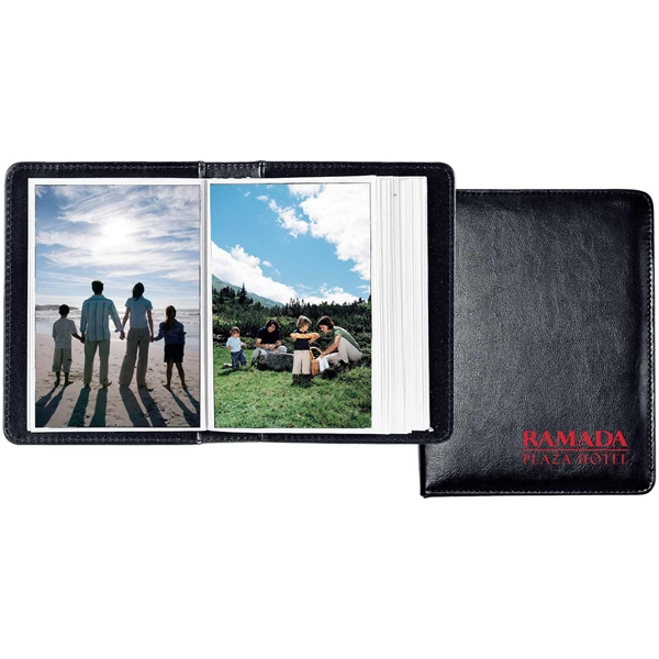 "Photo Album, Holds Sixty 4"" X 6"" Photos Photo"