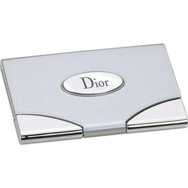 Business Card Case With Mirror Photo