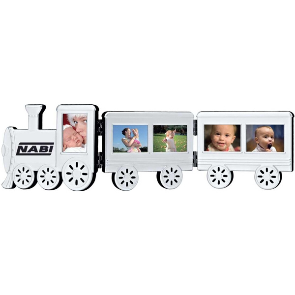 Foldable Aluminum Train Photo Frame Photo