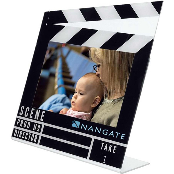 Acrylic Clapboard Photo Frame Photo