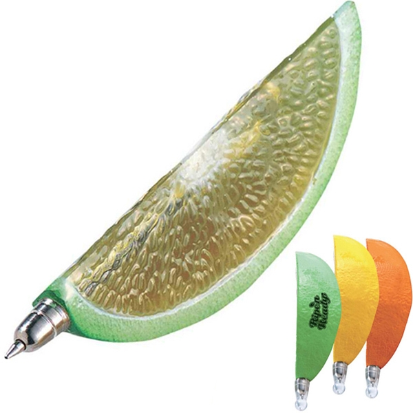 Lemon Slice Shaped Pen Photo
