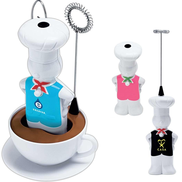 Mr. Chef - Cream Mixer Includes Cup Stand With 3 Whisking Heads Photo