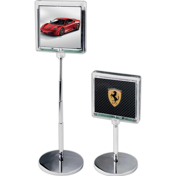 Solar Flashing Desk Top Billboard With Photo Frame Photo