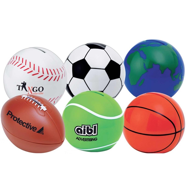 Sport Ball Coin Bank Photo