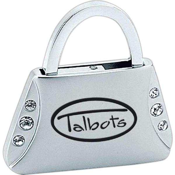 Metal jewelry purse keychain