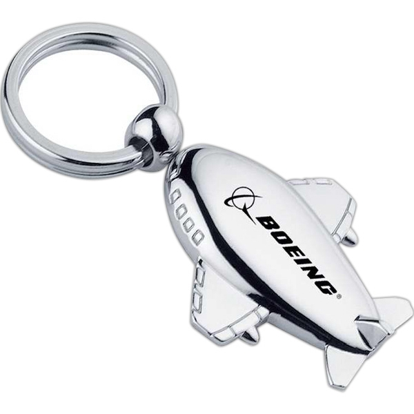 Metal 727 Style Airplane Key Chain Photo