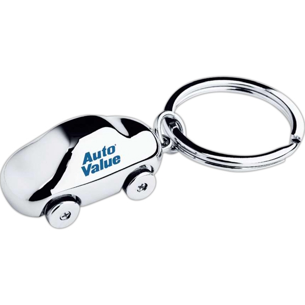 Car Shaped Keychain Photo
