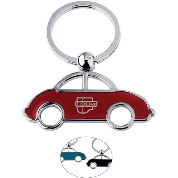 Car Shaped Key Ring Photo