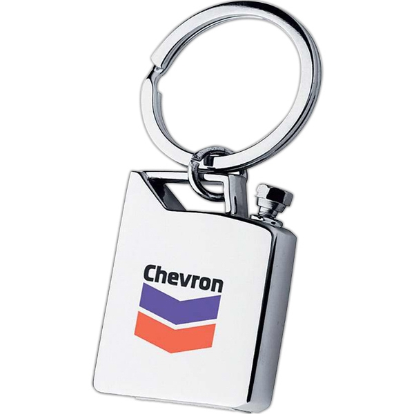 Gasoline Tank Shaped Keychain Photo