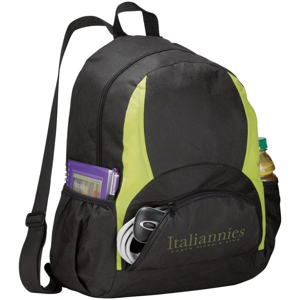 Bamm-bamm - Non-woven Polypropylene Backpack With Top And Front Zipper Pocket Photo