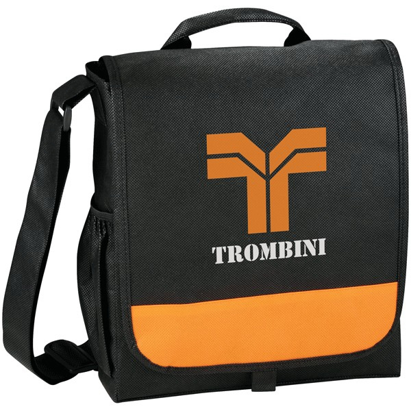 Bravo - Non-woven Polypropylene Messenger Bag Photo