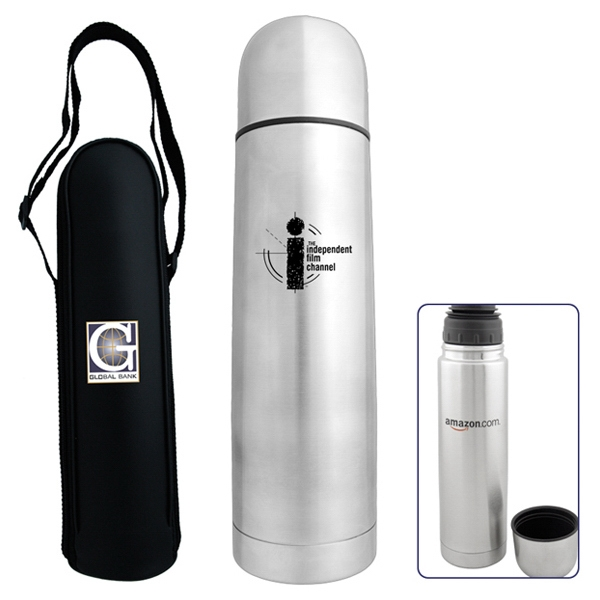 Bullet - 50 Working Days - Stainless Steel Bullet Shaped Flask With Double Wall Construction Photo