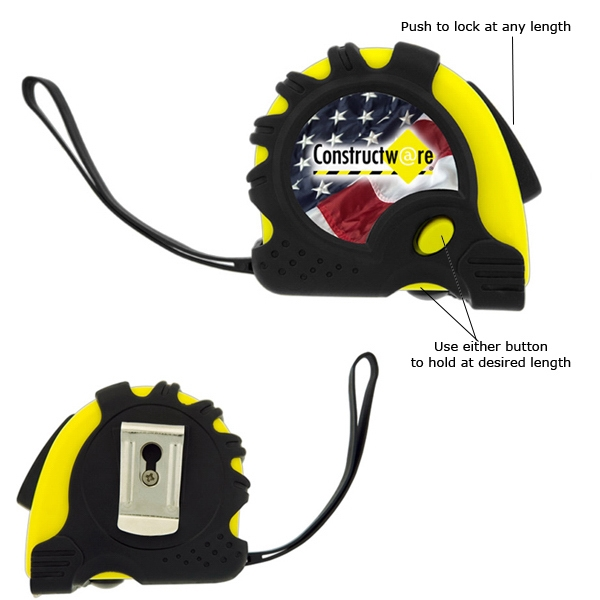 The Carpenter - 3 Working Days - Sixteen Foot Retractable Metal Tape Measure Photo
