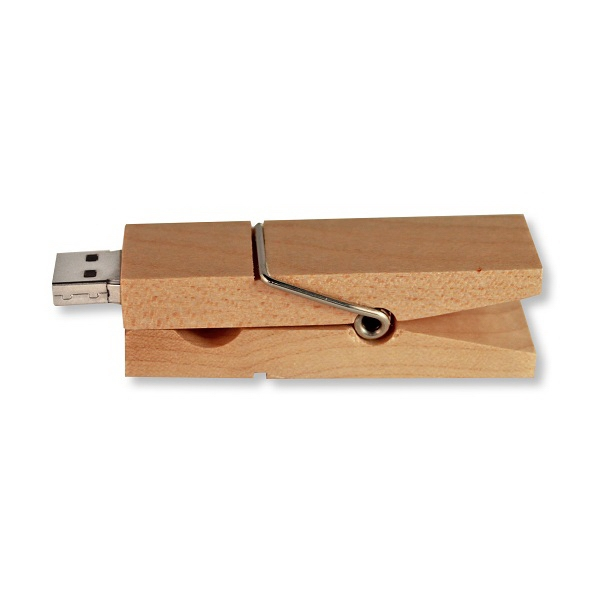 Clothespin Flash Drive