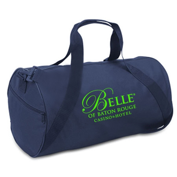 Barrel Duffel Bag, Made With 50% Recycled Material Photo