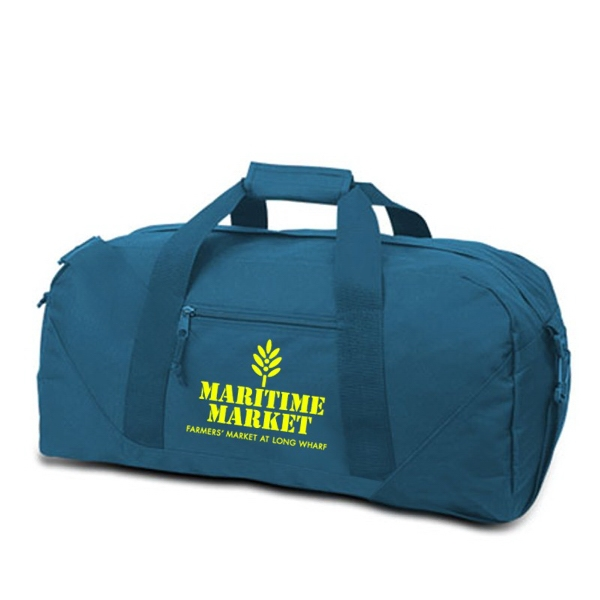 Large Duffel Bag, 600 Denier Polyester, Made With 50% Recycled Material Photo