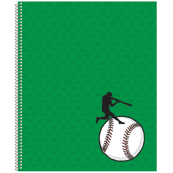 Econo - Economy 4-color Composition Notebook With 50 Perforated Sheets, Spiral Bound Photo