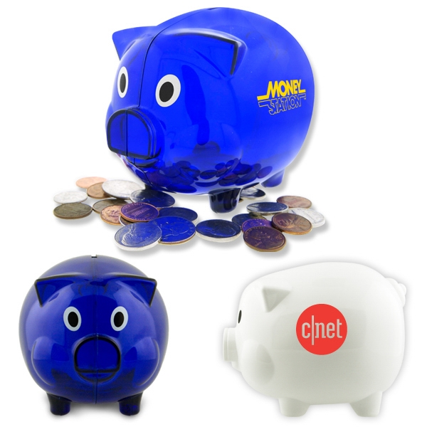 50 Working Days - Large Piggy Bank Photo
