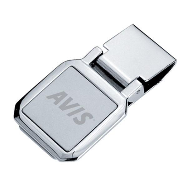 Square - Metal Money Clip Photo