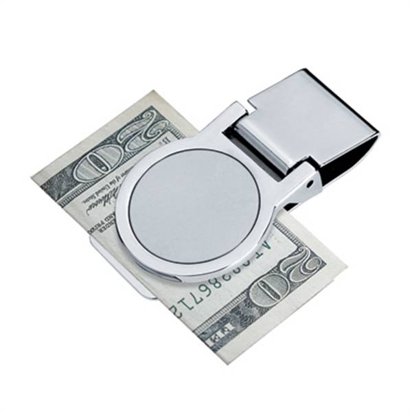 Round - Metal Money Clip Photo