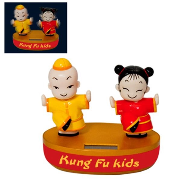 Solar Powered Moving Kung Fu Kids Photo