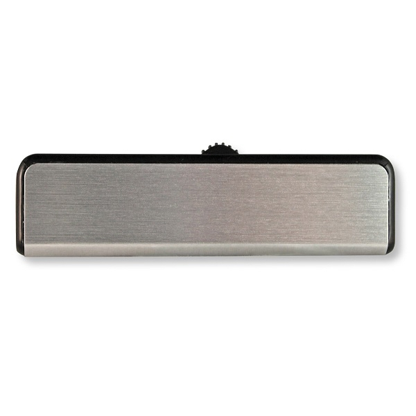 Silver Slider Flash Drive