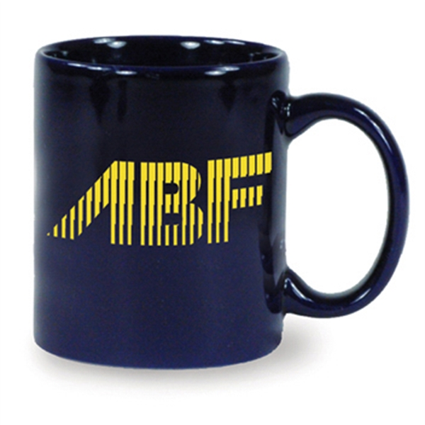 Hartford - Cobalt - Ceramic Mug, 11 Ounces Photo