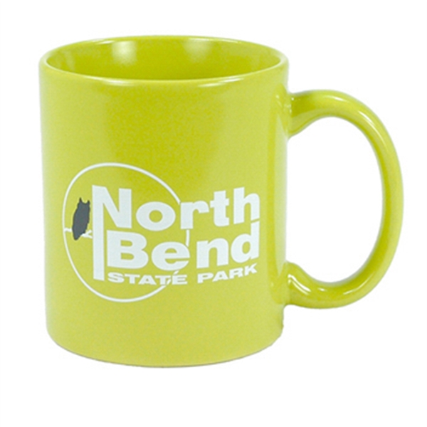 Hartford - Lime Green - Ceramic Mug, 11 Ounces Photo
