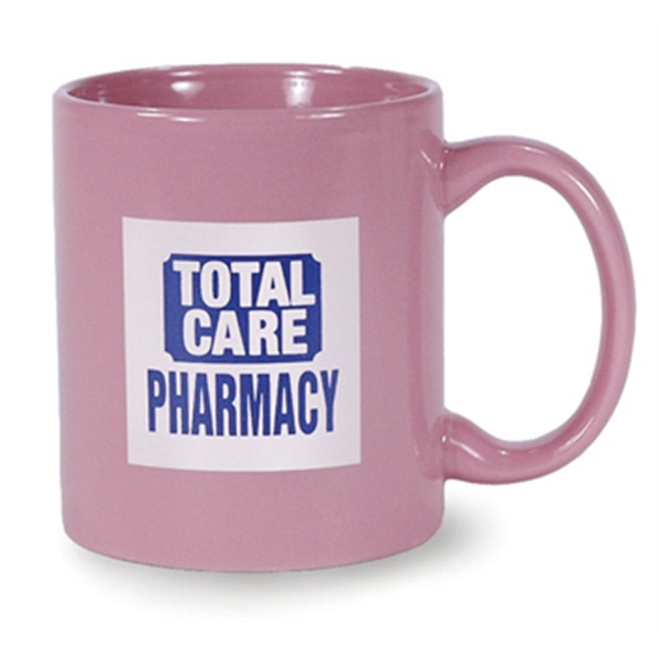 Hartford - Pink - Ceramic Mug, 11 Ounces Photo