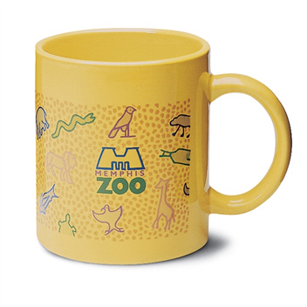 Hartford - Yellow - Ceramic Mug, 11 Ounces Photo