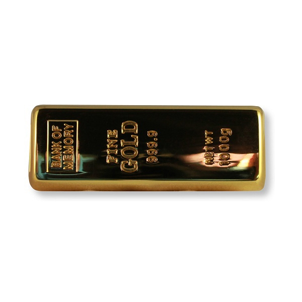Gold Bar Flash Drive
