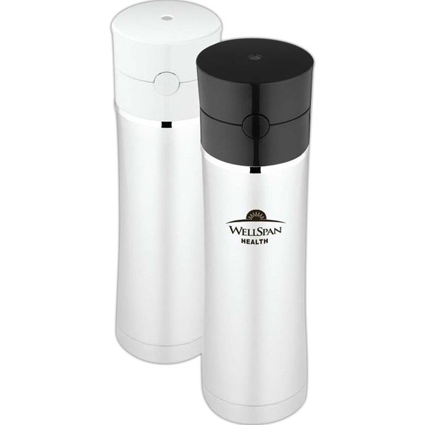 Sipp (tm) - Hydration Bottle With One Hand Push Button Operation, 18 Oz/500 Ml Photo