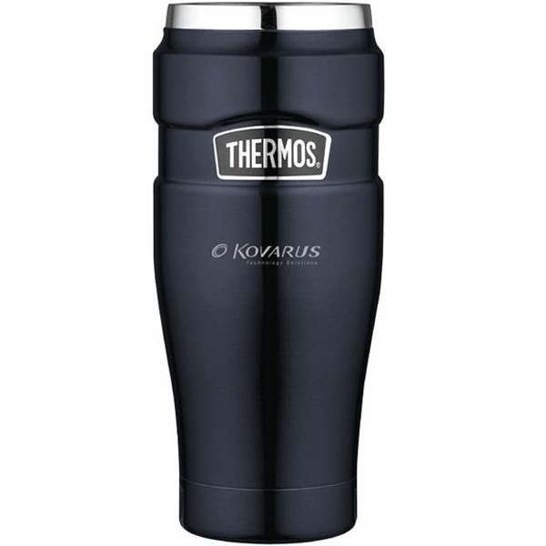 The Stainless King (tm) - Midnight Blue Leak-proof Travel Tumbler 16 Oz/470 Ml Photo
