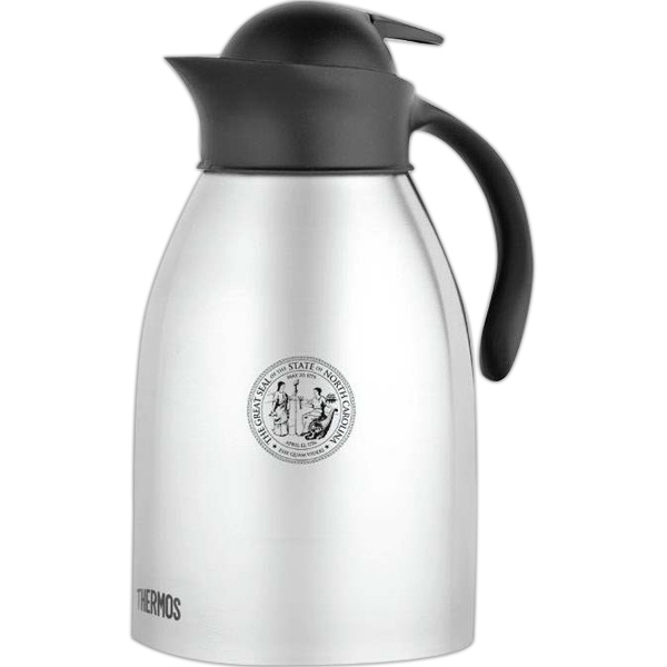 Stainless Steel Carafe With Sturdy Ergonomic Handle Photo