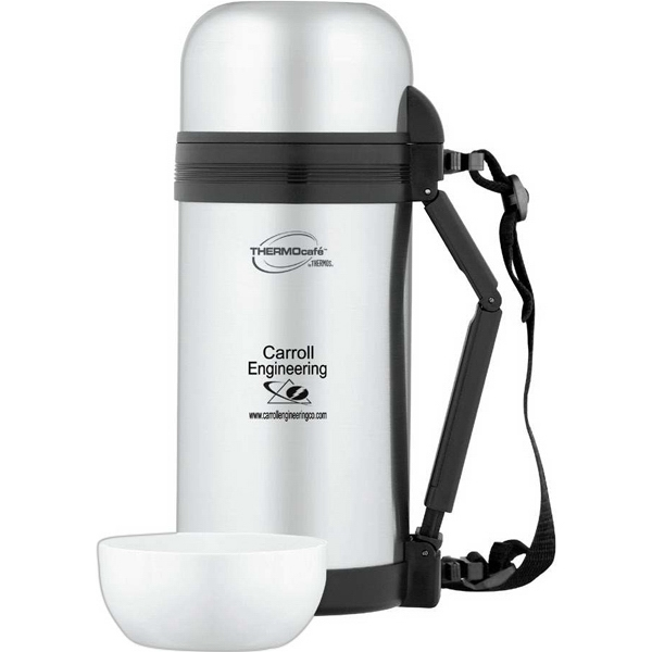 Thermo Cafe' (tm) - Wide Mouth Food Bottle With Tight Seal Lid Photo