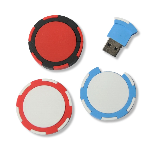 Poker Chip Flash Drive