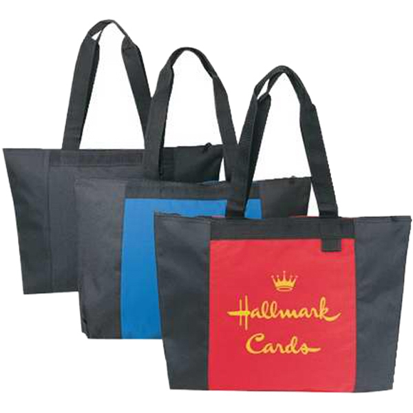 Embroidery - All Purpose Tote Bag Made Of 600 Denier Polyester With Vinyl Backing Photo