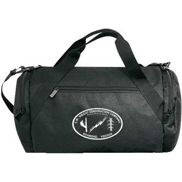 Embroidery - Medium Polyester Roll Bag With Adjustable/detachable Shoulder Strap Photo