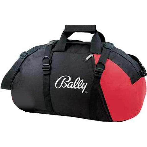 Silkscreen - Two-way Duffel Backpack Bag Made Of 600 Denier Polyester Photo