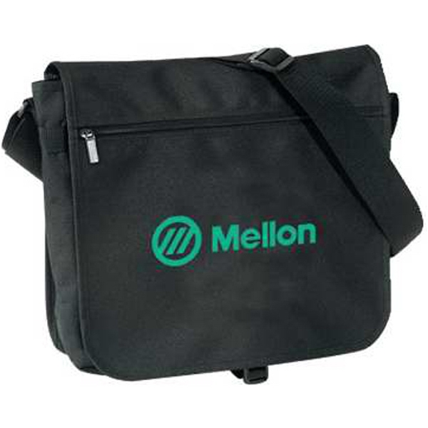 Silkscreen - Medium Messenger Bag With Adjustable Shoulder Strap And Buckle Closure Photo